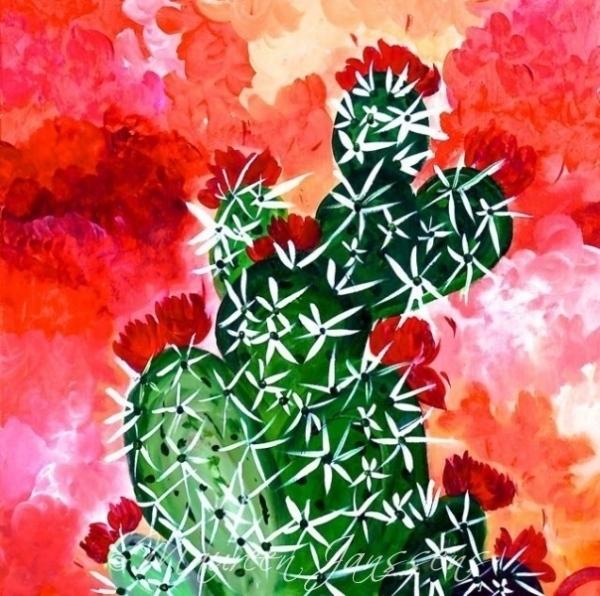 Bloomin Cactus