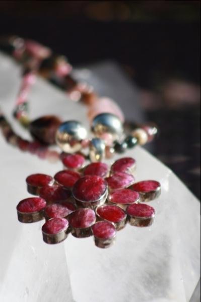Tourmaline and ruby