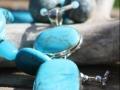 Turquoise/raw turquoise/aquamarine