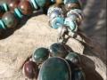 Bloodstone/turquoise