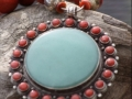 Aventurine and coral